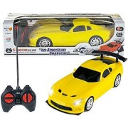 Remote Control High Speed Racing American Super Car for Kids (yellow)