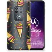 Motorola One Zoom Siliconen Case Icecream