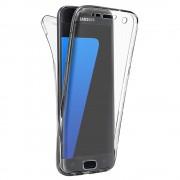 Husa Full TPU 360 (fata spate) pentru Samsung Galaxy S6 Transparent