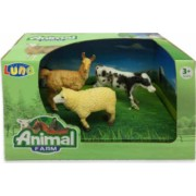 Set 3 figurine Animale Domestice Animal Farm 621047