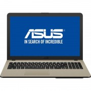 Laptop Asus VivoBook 15 X540UA-GO204 15.6 inch HD Intel Core i3-7100U 4GB DDR4 500GB HDD Endless OS Chocolate Black