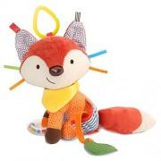 Skip Hop Bandana Buddies Activity Toy Fox, Multi Color