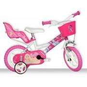 "Bicicleta copii DINO BIKES 126RL BA, Roti 12"", Barbie"