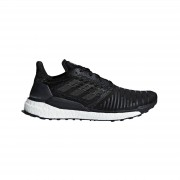 adidas Men's Solar Boost Running Shoes - Black - US 8/UK 7.5 - Black