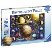 Puzzle Copii 6Ani+ Planete, 100 piese