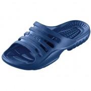 Beco Sauna/zwembad slippers navy blauw voor heren 45 - Badslippers