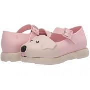 Melissa Baby Girls Mini Play Step Zapatillas de deporte, color rosa y beige, talla, rosado, beige, (Pink Beige), 17 MX Niño pequeño