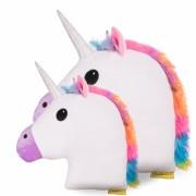 Jucarie de Plus Unicorn Perna Multicolor XXL 50 cm