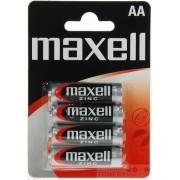 Batérie Maxell Zinc AA 4ks Blister