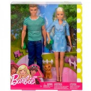 Barbie i ken sa psom FTB72 ( 19864 )
