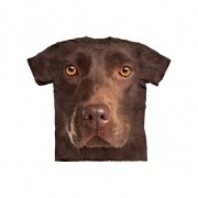 The Mountain Kinder honden T-shirt bruine Labrador