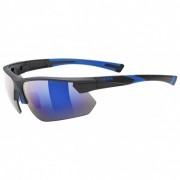 Uvex Sportstyle 221 Mirror Cat: 3 Occhiali da sole grigio/blu/nero