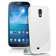 Husa Samsung i9200 Galaxy Mega 6.3 Silicon Gel Tpu S-Line Alba