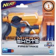 Blaster Hasbro Nerf MicroShots N-Strike Elite Firestrike cu 2 Proiectile