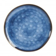 Xenos Dinerbord Toscane - donkerblauw - 28 cm
