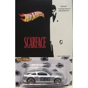 """Hot Wheels CUSTOM 1971 FORD MUSTANG MACH I """"Scarface"""" Real Riders Rubber Wheels Limited Edition 1/5 Made!"""
