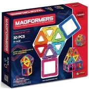 Magformers mágneses építőkészlet, szivárványszínű