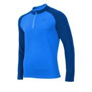 Bluza barbateasca Blue 4F, din material fleece
