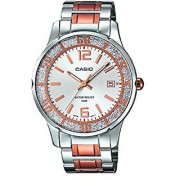 Casio Enticer Analog Silver Dial Womens Watch - Ltp-1359Rg-7Avdf (A899)