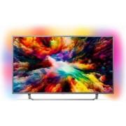 Televizor LED 139 cm Philips 55PUS7303/12 4K UHD Smart TV Android
