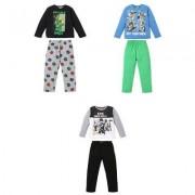 Lego Ninjago, Pyjamas, barn (Vit, 10 ÅR - 140 CM)