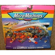 Micro Machines Mountain Search & Rescue #14 Collection