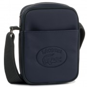 Мъжка чантичка LACOSTE - Vertical Camera Bag NH2874MX Peacoat Scarab C59