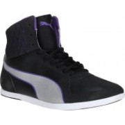 Puma Modern Soleil Mid Quill Casuals For Women(Black)