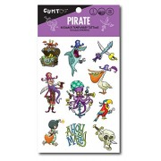 Pirates - Designer Temporary Tattoos