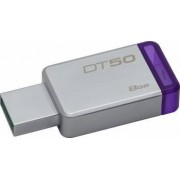 USB Flash Drive Kingston 8GB DataTraveler 50 USB 3.1 Metal-Violet