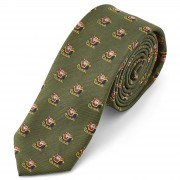 TND Basics Cravate de noël Le traîneau du Père Noël