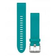 Garmin QuickFit 20 Silikon - Klockarmband - Turkos