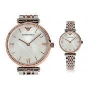 Emporio Armani AR1683 Ladies' Emporio Armani 2-Tone Watch