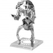 DIY 3D Puzzle Modelo Montado Destructor De Juguetes Educativos - Plata