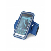Suport telefon pentru brat Everestus STT177 softshell albastru laveta inclusa