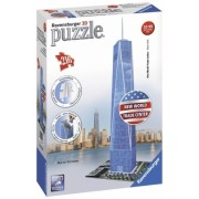 Puzzle 3D world trade center, 216 piese Ravensburger