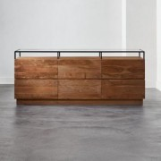 Lawson Low Glass Top Dresser by CB2