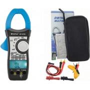 HOLDPEAK 870C Digitális lakatfogó VDC VAC ADC AAC ellenállás kapacitás hőmérséklet 2 kijelző.