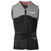Atomic Live Shield Vest Amid Protecteur Dorsale (Noir/Gris)