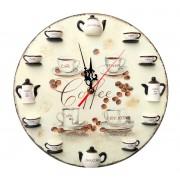 Ceas de perete - cafea - 115841