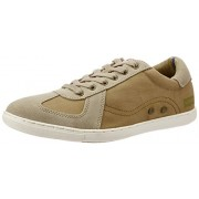 Levis Men's Cannon Zipper Sand Sneakers - 6 UK