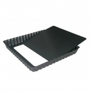 De Buyer DeBuyer Non-Stick Square Tart Mould With Removable Base 18 cm