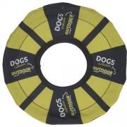 Disc de aruncare pentru câini, galben