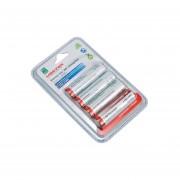 Pilas Recargables Baterias Doble AA Master 1000 Recargas
