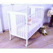 Легло-кошара MI-6 Babymobel 60/120 - white