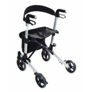 NOU Cadru ajutator pentru mers cu roti pliabil pentru exterior Premium Ridder Germania sustine maxim 136 kg rolator seniori