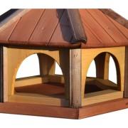 Vogelhaus Drew-Handel K40/ D Futterhäuschen aus Nadelholz