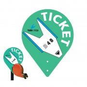 Cartello Ticket in PVC