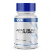 Protetor hepático natural - Alcachofra 300mg + Silimarina 50mg