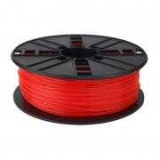 Gembird Bobina de Filamento ABS 1.75mm 1Kg Vermelho Fluorescente